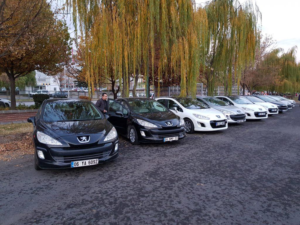 Etlik Faris Cafe 19.Kasım.2017 Peugeot 308 Ankara Buluşması