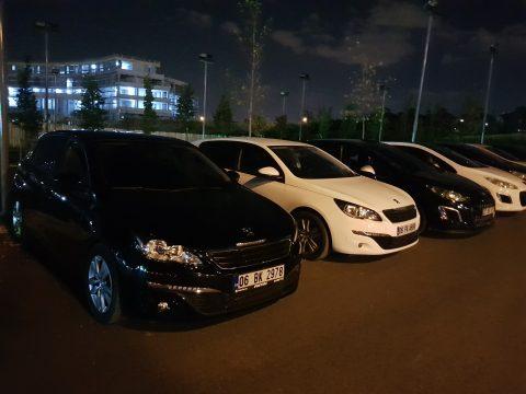 Faris Cafe Peugeot 308 Ankara Buluşması 14.Ekim.2017